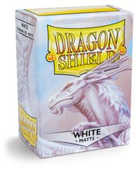 Dragon Shield Standard Sleeves Matte - White