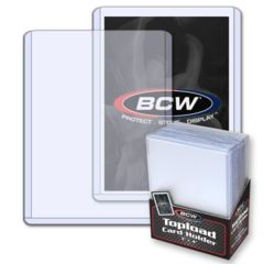 1 Case of 1000 BCW 3x4 Standard Toploaders