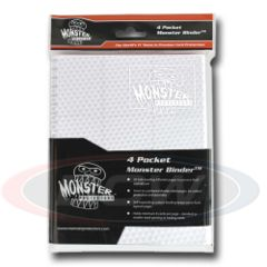 4 POCKET - HOLOFOIL WHITE WITH WHITE PAGES