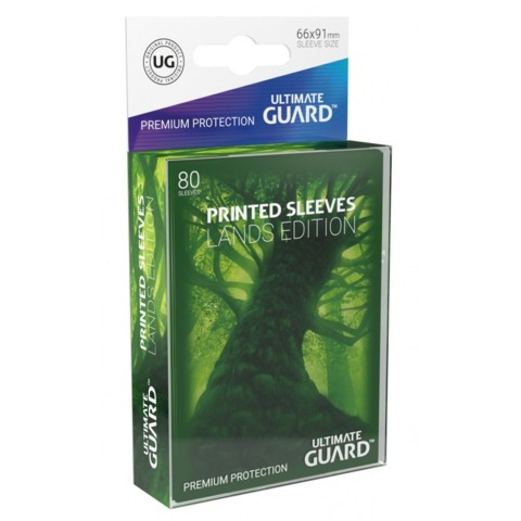 Ultimate Guard Art Sleeves - Forest - Pack of 80