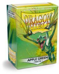 Dragon Shield: Standard Matte - APPLE GREEN