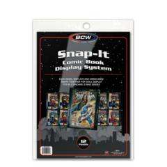 SNAP-IT COMIC BOOK BLACK