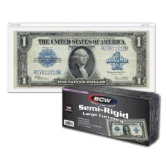 SEMI-RIGID BILL HOLDER - LARGE BILL - Pack of 50