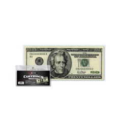 CURRENCY SLEEVES - REGULAR BILL - 6 3/16 x 2 5/8 - Pack of 100