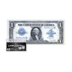 CURRENCY SLEEVES - LARGE BILL - 7 9/16 x 3 5/16 - Pack of 100