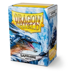 Dragon Shield Standard Sleeves Matte - Sapphire