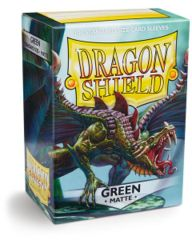 Dragon Shield: Standard Matte - GREEN
