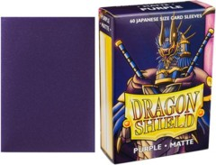 Dragon Shield Mini Japanese Size Matte Sleeves - Purple