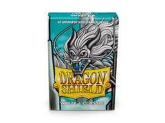 Dragon Shield Mini Japanese Size Classic Sleeves - White