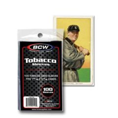 BCW TOBACCO CARD SLEEVES - Pack of 100