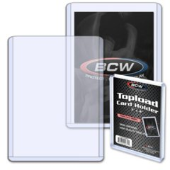 BCW 3 X 4 X 9 MM - THICK CARD TOPLOAD HOLDER - 360 PT.