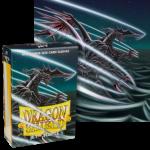 Dragon Shield Mini Japanese Size Matte Sleeves - Jet