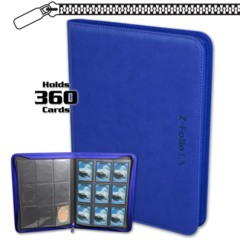 BCW Gaming Z-FOLIO 9-POCKET LX ALBUM - BLUE