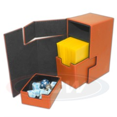 BCW Gaming DECK LOCKER - LX - ORANGE