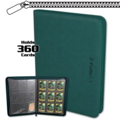 BCW Gaming Z-FOLIO 9-POCKET LX ALBUM - TEAL