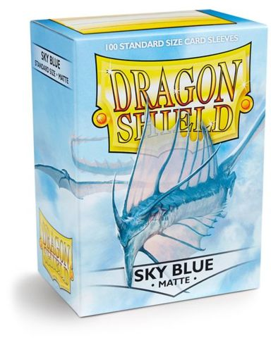 Dragon Shield Standard Sleeves Matte - Sky Blue