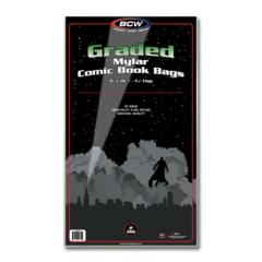 BCW GRADED COMIC MYLAR - 2 Mil - Pack of 25