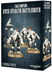 T'au Empire: XV25 Stealth Battlesuits