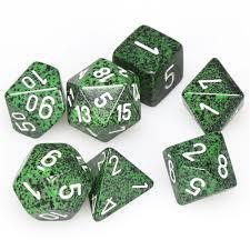 Speckled Recon 7 Dice Set - CHX25325