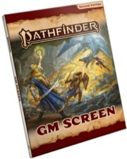 Pathfinder 2nd Edition GM Screen
