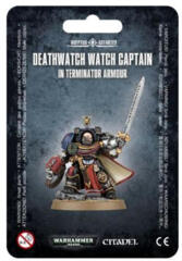 Adeptus Astartes: Deathwatch Captain in Terminator Armour