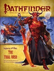Pathfinder 24 Legacy of Fire: The Final Wish