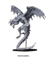 73145 Pathfinder Deep Cuts Miniatures: Gargantuan White Dragon