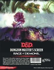 73704 D&D 5th Edition: Dungeon Master's Screen Rage Of Demons