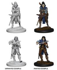 72611 Pathfinder Deep Cuts Unpainted Miniatures: Elf Female Bard