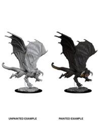 73682 D&D Nolzur's Marvelous Miniatures: Young Black Dragon