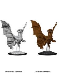 73685 D&D Nolzur's Marvelous Miniatures: Young Copper Dragon