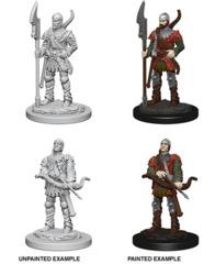 72583 Pathfinder Deep Cuts Unpainted Miniatures: Town Guards