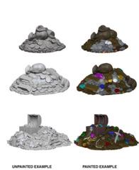 72592 WizKids Deep Cuts Unpainted Miniatures: Treasure Piles