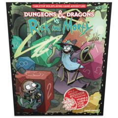 D&D 5th Edition: Starter Set Dungeons & Dragons vs Rick and Morty