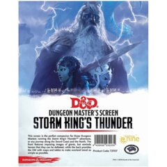 73707 D&D 5th Edition: Dungeon Master's Screen Storm King's Thunder
