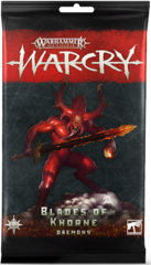 Warcry: Blades of Khorne Daemons Cards