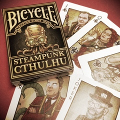Bicycle Cards - Steampunk Cthulhu