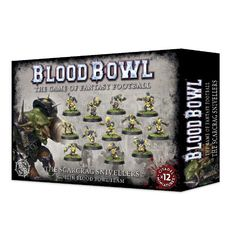 Blood Bowl Team: Skarscrag Snivelers
