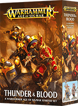 Thunder & Blood: A Warhammer Age of Sigmar Starter Set [Old]