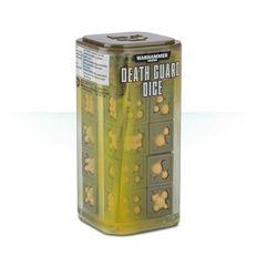 Warhammer 40000: Death Guard Dice