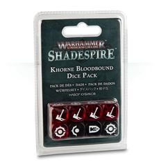 Khorne Bloodbound Dice Pack