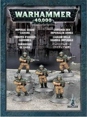 Imperial Guard Cadians (5 models)