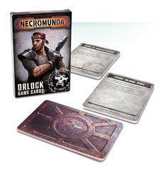 Necromunda: Orlock Gang Cards