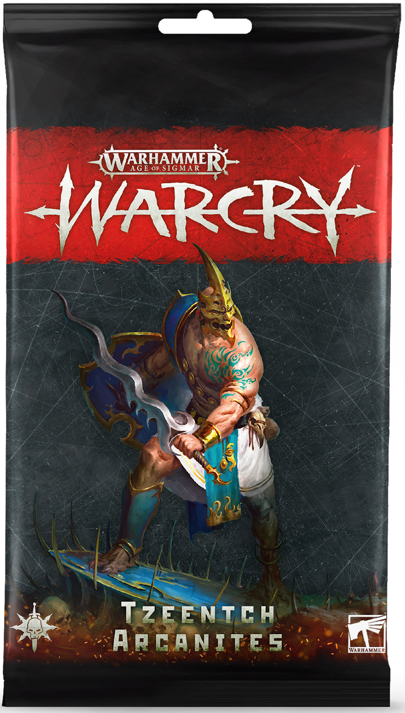 Warcry: Tzeentch Arcanites Card Packs