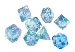 Emerald Waters Polyhedral Dice Set - Sirius