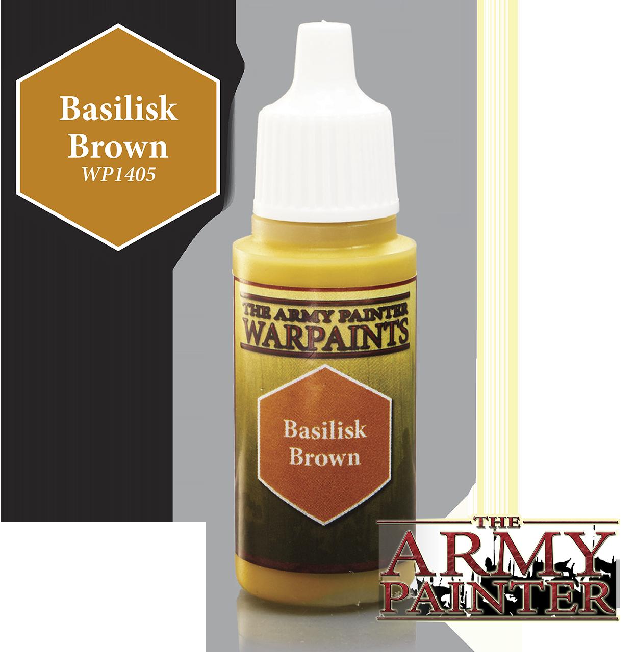 Warpaints: Basilisk Brown 18ml