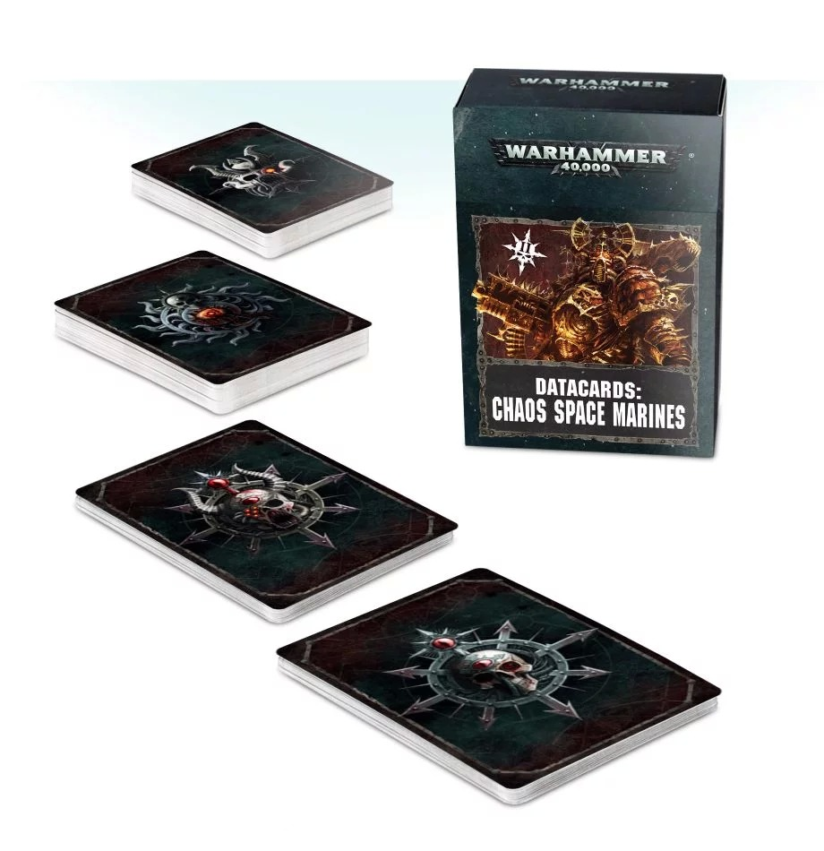 Datacards: Chaos Space Marines (II)