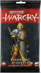 Warcry: Stormcast Eternals Sacrosanct Chamber Cards