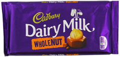Dairy Milk Wholenut (120g)