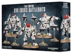 Tau XV8 Crisis Battlesuit Team